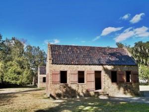 Slave Cabins at Boone Hall Plantation